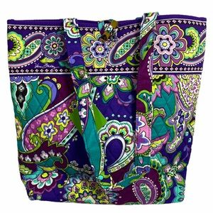 Vera Bradley HEATHER Tote Bag NWT